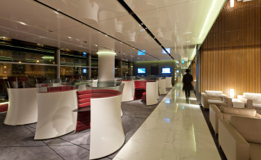 CATHAY PACIFIC LOUNGE in New York